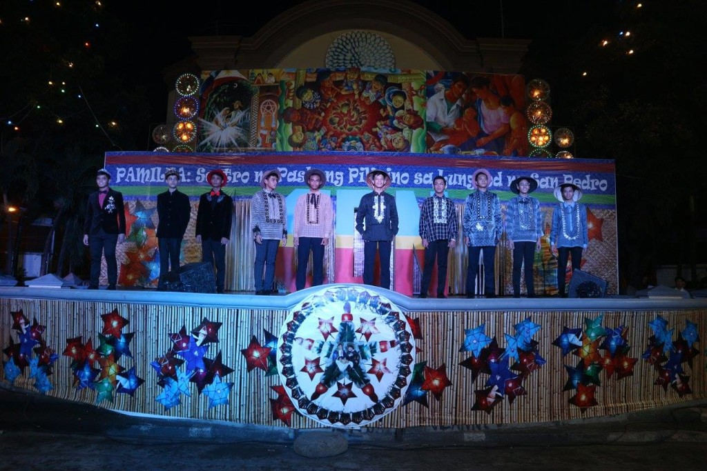 Ten selected Casan models paraded in coats and barongs designed for special occasions by Mr. Chito Maramag.